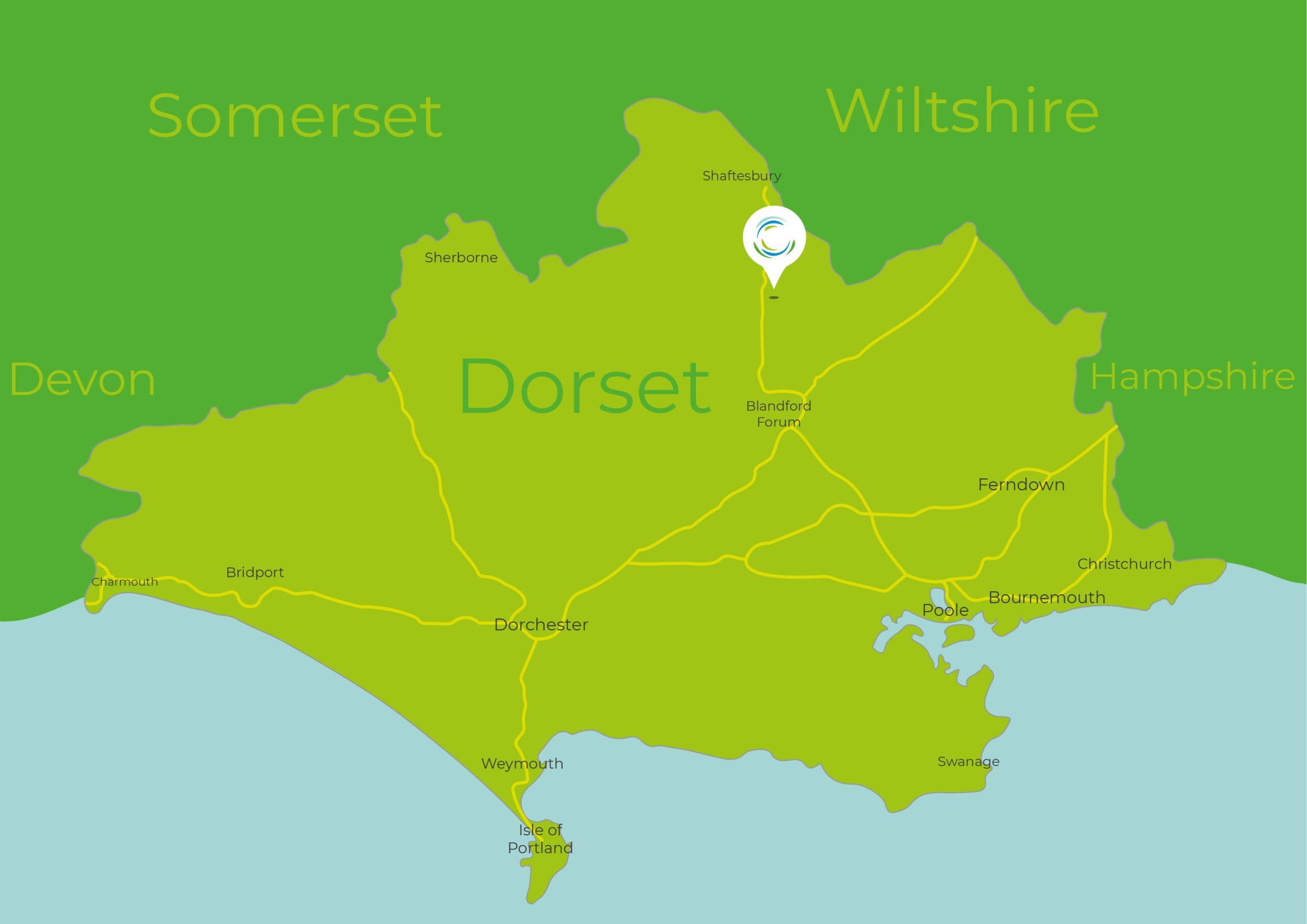 Springhead Trust Map
